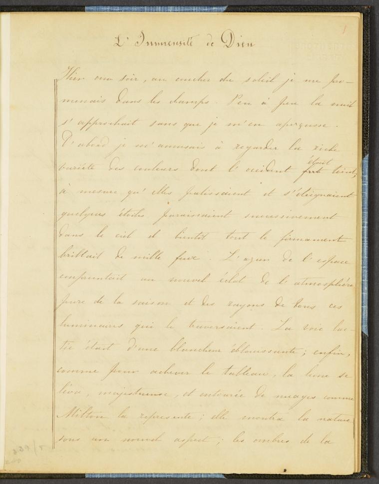 BC MS 19c Brontë/C2