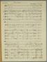 Score for Alas Parting, Denis ApIvor, 1937
