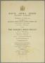 Programme for Veneziana, Sadler's Wells Ballet, 1953