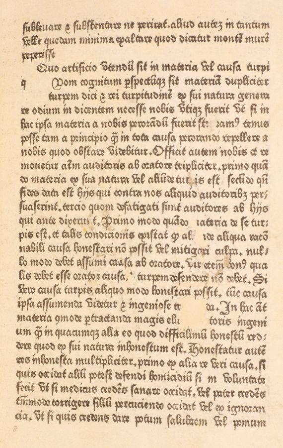 Epitome Margaritae Eloquentia (printed by William Caxton, c1480)