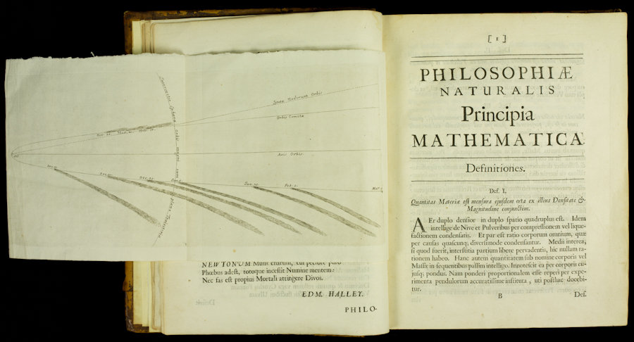 Philosophiae Naturalis Principia Mathematica, 1686