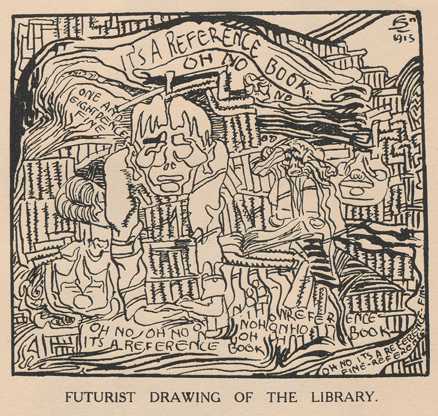 The Gryphon, Drawings by Mr S. Cohen