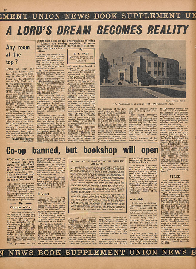 Union News, issue 258 8th May 1964