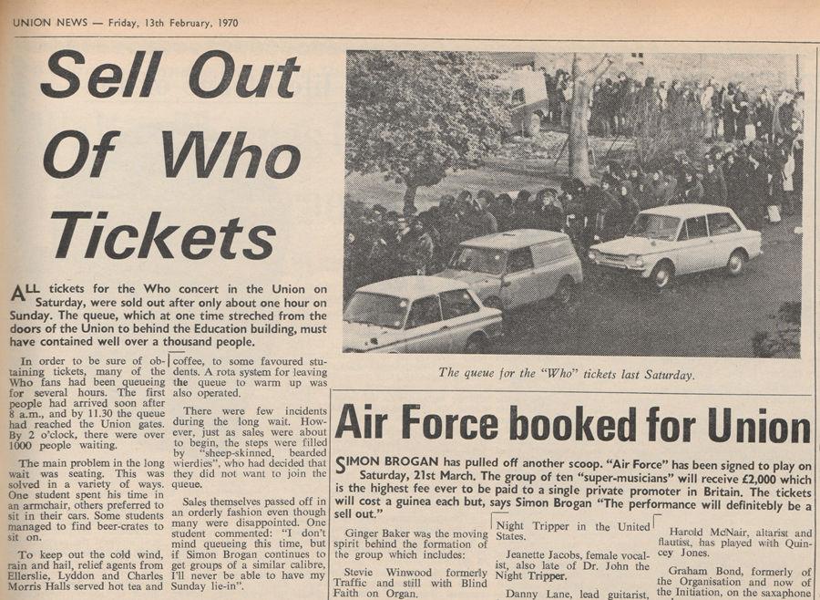 Union News 13th February 1970
