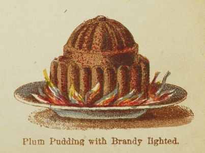 Plum Pudding Mrs Beeton Colour