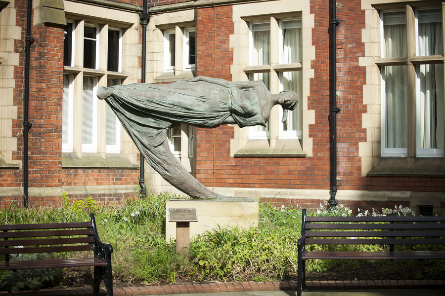 Levitating Woman 'The Dreamer'