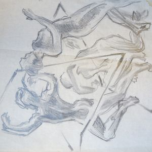 Laban figure drawing from 1920s