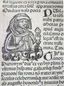 Ovid portrait from Nuremberg Chronicle