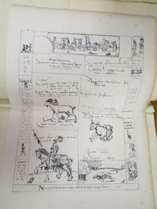 Brotherton Ovid cutting with illustrations