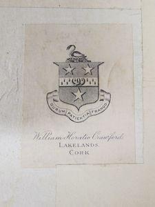 Bookplate of William Horatio Crawford