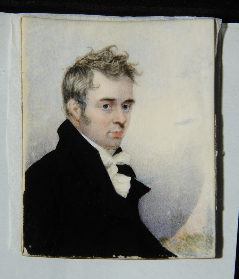 Edward Westoby (A Self Portrait) as a young man