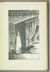 Illustrations from In a Glass Darkly by J Sheridan Le Fanu (c) Edward Ardizzone (1929)