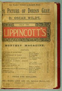 Picture of Dorian Gray, Lippincott's Magazine cover