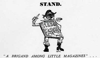 Detail from an advertisement for Stand magazine, ca. 1954.