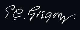 Gregory signature.