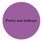 Poetry and Audience purple icon.