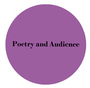 Poetry and Audience purple icon