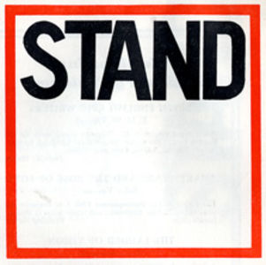Stand logo in red