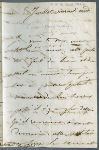 Drouet letter dated 5 th July 1848