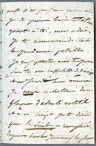 Drouet letter dated 15th June 1849