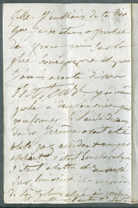Drouet letter dated 30th January 1849