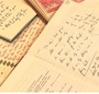 Literary drafts