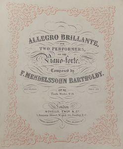 Mozart's 'Allegro Brillante'