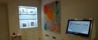 Footsteps into Art Brudenell Primary School Exhibition