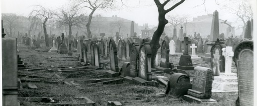 MS 421/6/1/5 Photograph of Leeds General Cemetery, 1962