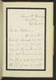 A B Nicholls letters to Ellen Nussey