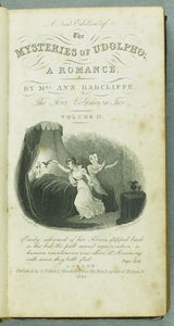 Mysteries of Udolpho, 1828 (BC Gen/RAD). Fontispiece