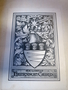 Strong Room for. 4to 1488 AVI armorial bookplate of J Henryson Caird