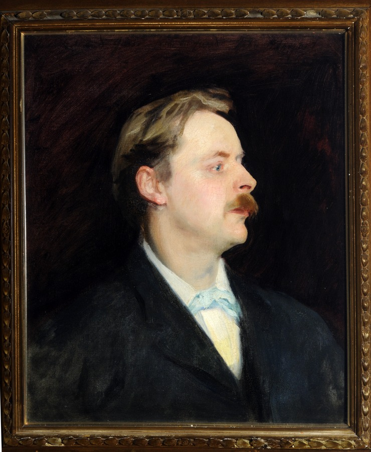 Portrait of Edmund Gosse