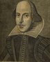 Portrait of Shakespeare (first folio)
