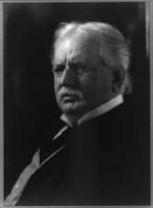 Theodore Newton Vail, 1845-1920, bust portrait, facing left]